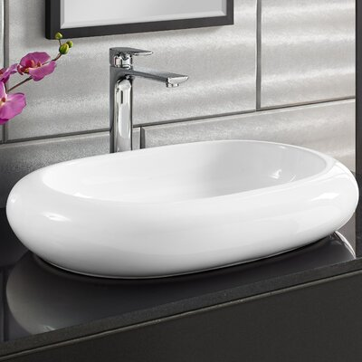 Plaisir� Oval Vessel Bathroom Sink