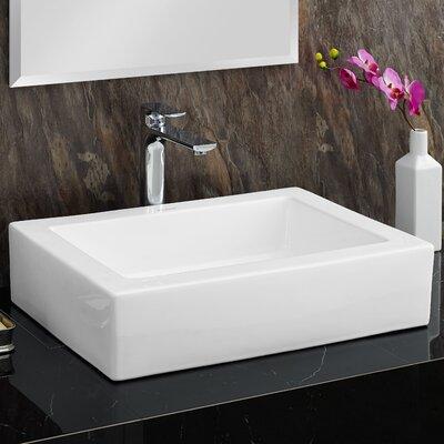 Plaisir Rectangular Vessel Bathroom Sink