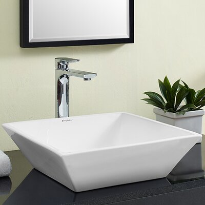 Plaisir� Square Vessel Bathroom Sink