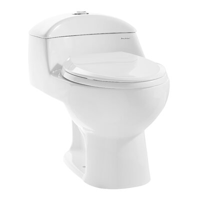 Chateau Dual Flush Elongated One-Piece Toilet