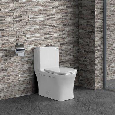 Concorde� Dual Flush Elongated Square One-Piece Toilet