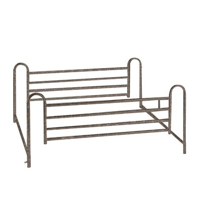 Drive Medical Full Length Hospital Bed Side Rail in Brown Vein at Sears.com