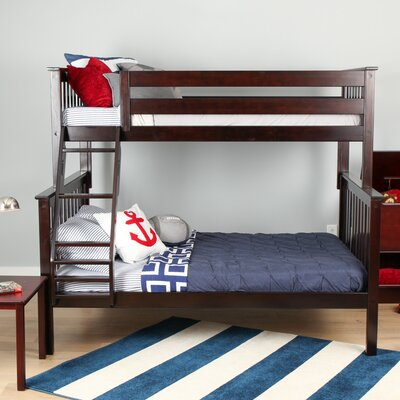 Solid Wood Twin Over Full Bunk Bed Finish: Espresso