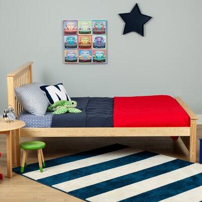 Solid Wood Full Platform Bed Finish: Natural
