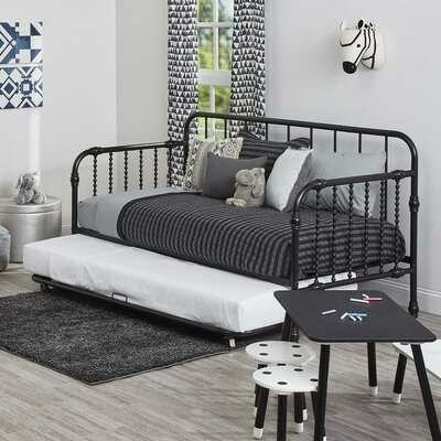 Monarch Hill Wren Daybed with Trundle Finish: Black