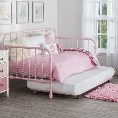 Monarch Hill Wren Daybed with Trundle Finish: Pink