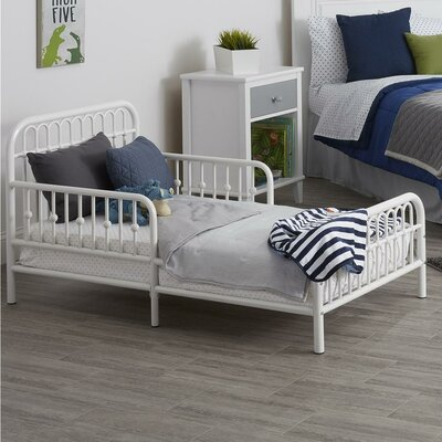 Monarch Hill Ivy Toddler Bed Color: White
