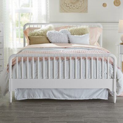 Rowan Valley Linden Slat Bed Color: White, Size: Twin