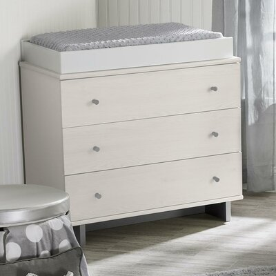 Maple Lane Dove 3 Drawer Dresser