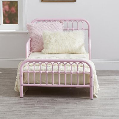 Monarch Hill Ivy Toddler Bed Finish: Pink
