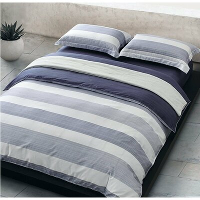 Cabana Stripe Duvet Cover Set Size: Full/Queen
