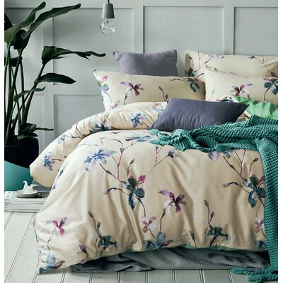 Kerrigan 3 Piece Duvet Cover Set Size: Full/Queen