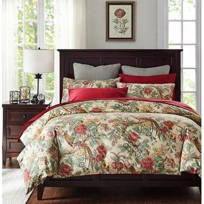 Horne Paradise Garden Duvet Cover Set Size: King