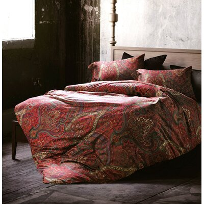 Soualem 3 Piece Luxury Duvet Set Size: King