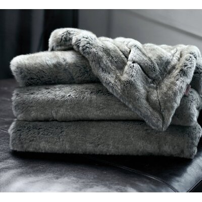 Tannehill Luxury Reversible Throw Color: Taupe