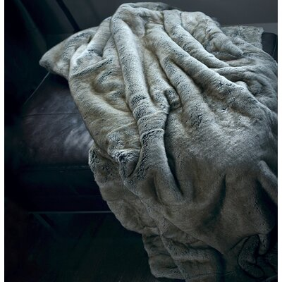 Tannehill Luxury Reversible Throw Color: Gray