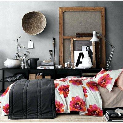 Rollins Vivid Large Flowers Print 100% Cotton 3 Pieces Duvet Set BSTU1910 44399634