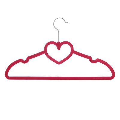 Sturdy Heart Shaped Slim Clothes Hanger VPINHS20