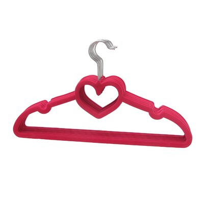 Heart Shaped Sturdy Slim Clothes Hanger VPINHS10