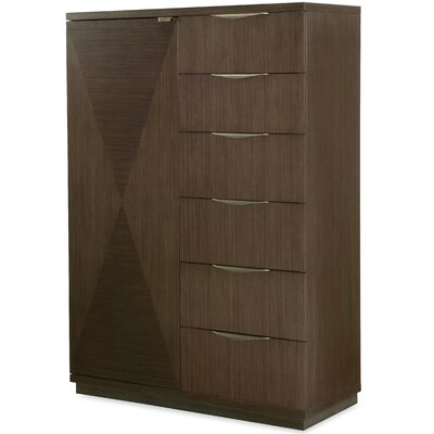 Soho By Rachel Ray Home 6 Drawer Gentlemans Chest