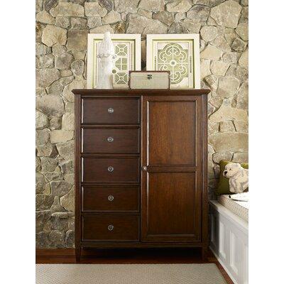 Upstate Sliding 5 Drawer Combo Dresser