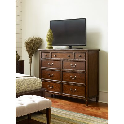 Upstate 9 Drawer Double Dresser Color: Conciare