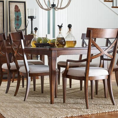 Upstate Leg Extendable Dining Table Finish: Conciare