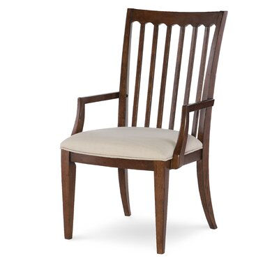 Upstate Slat Back Arm Chair (Set of 2)