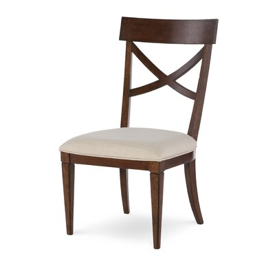 Upstate X-Back Side Chair (Set of 2) Finish: Conciare