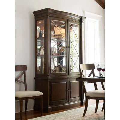 Upstate 2 Door Display China Cabinet Finish: Conciare
