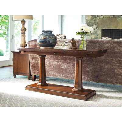 Upstate Flip Top Console Table