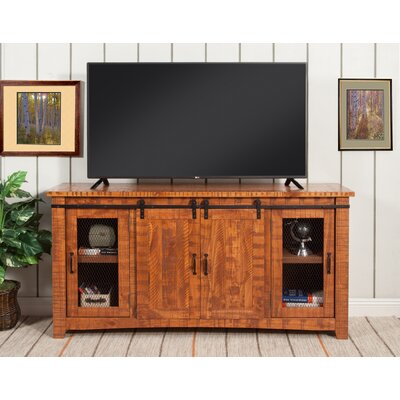 Karlo 65 TV Stand Color: Honey Tobacco