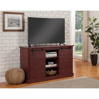 Racheal 60 TV Stand Color: Red