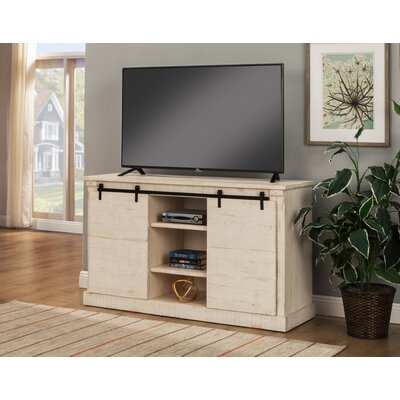Racheal 60 TV Stand Color: Antique White