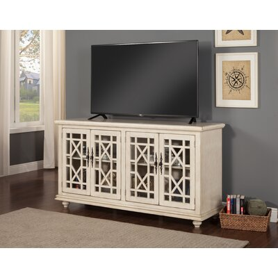 Belfast 63 TV Stand Color: Antique White