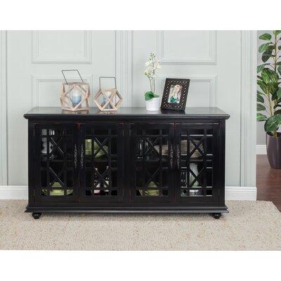 Belfast 63 TV Stand Color: Antique Black
