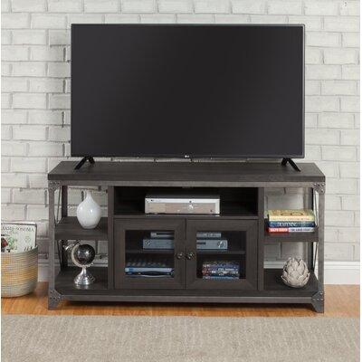 Delfin 55 TV Stand Color: Charred