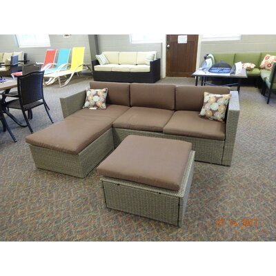 Zeba Sectional Piece with Cushions