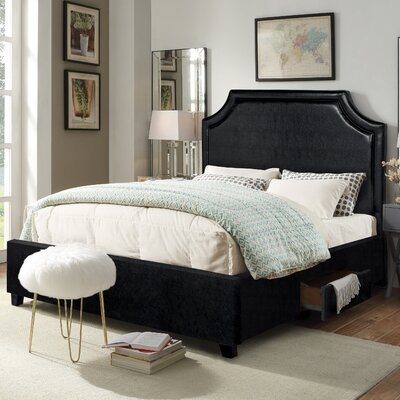 Louis Storage Platform Bed Size: King