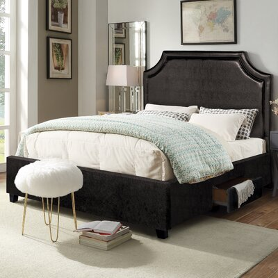 Louis Platform Storage Bed Size: King
