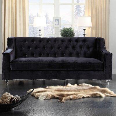 Dylan Sofa Upholstery: Black