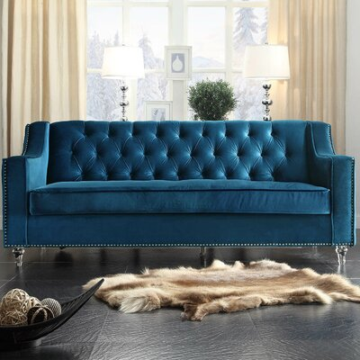 Dylan Sofa Upholstery: Blue