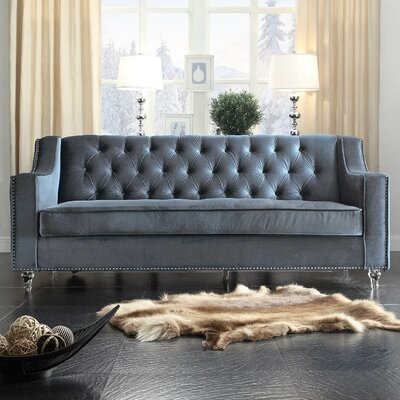 Dylan Sofa Upholstery: Gray