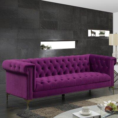 Bea Velvet Sofa Upholstery: Samson