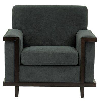 Mahowny Retro Trim Armchair Upholstery: Gray