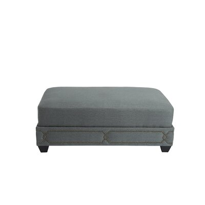 Gianni Cocktail Ottoman Upholstery: Grey