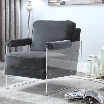 Bourne Armchair Upholstery: Gray
