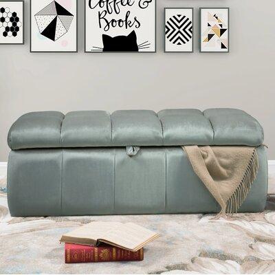 Bradman Storage Ottoman Upholstery: Gray