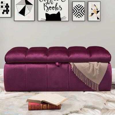 Bradman Storage Ottoman Upholstery: Samson