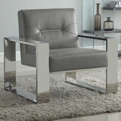 Buckminster Armchair Upholstery: Gray